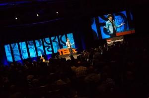 Shapiro_TEDx_stage